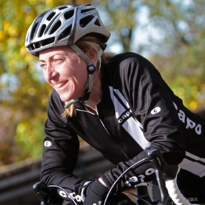 Joan Hanscom, Executive Director of The Valley Preferred Cycling Center