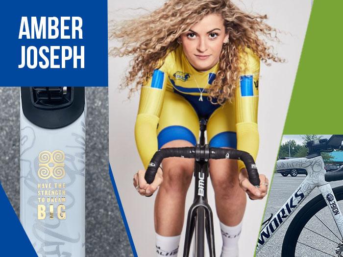 Amber Joseph - Barbados National Cyclist